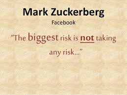 Biggest risk Mark Zuckenberg quote